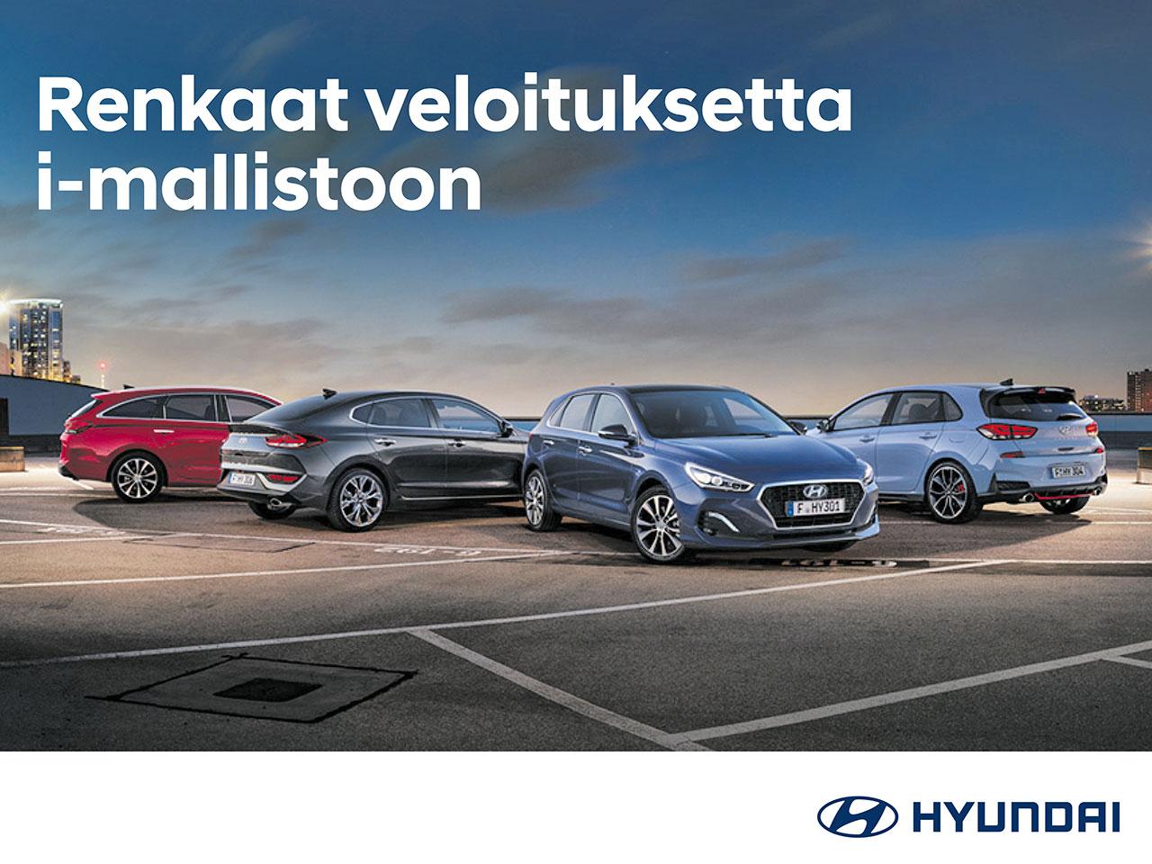 Hyundai i-mallistoon talvirenkaat veloituksetta