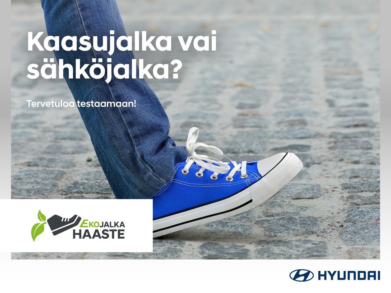 Ota Hyundain Ekojalkahaaste vastaan ja testaa!