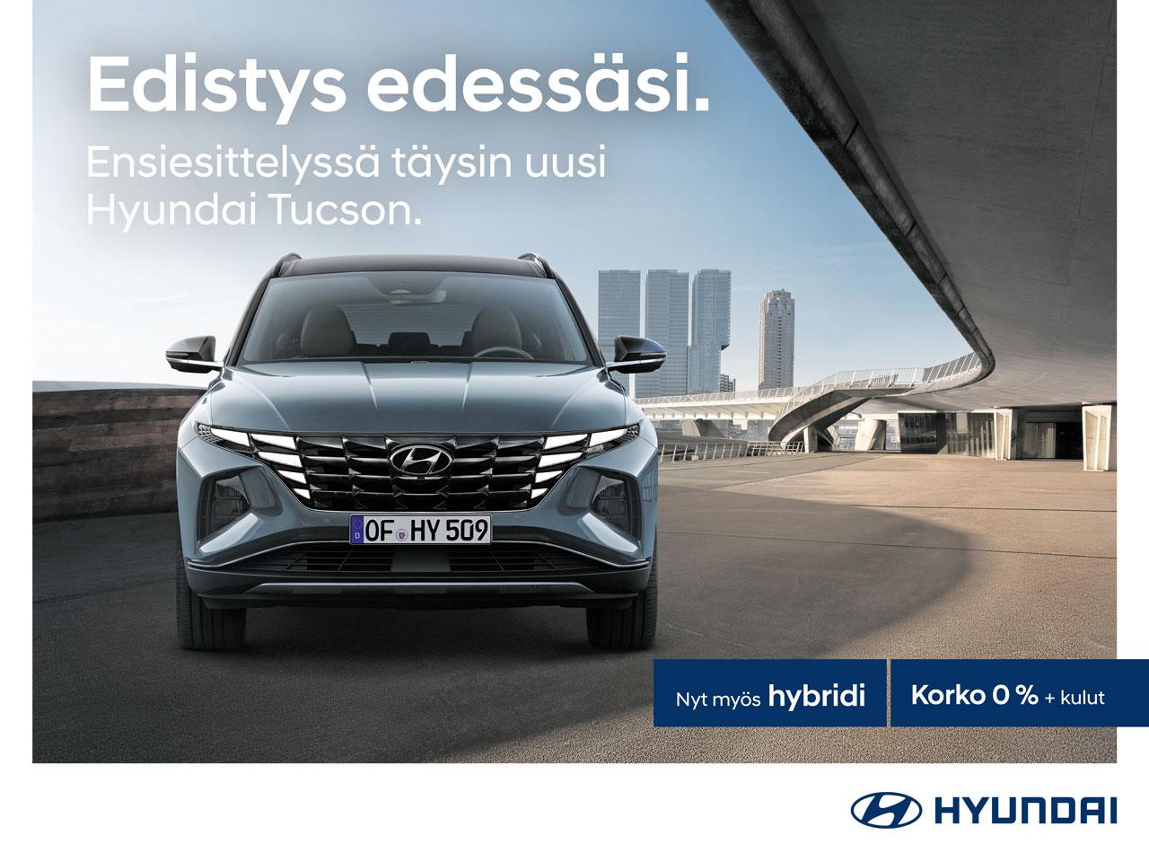 Ensiesittelyssä täysin uusi Hyundai Tucson