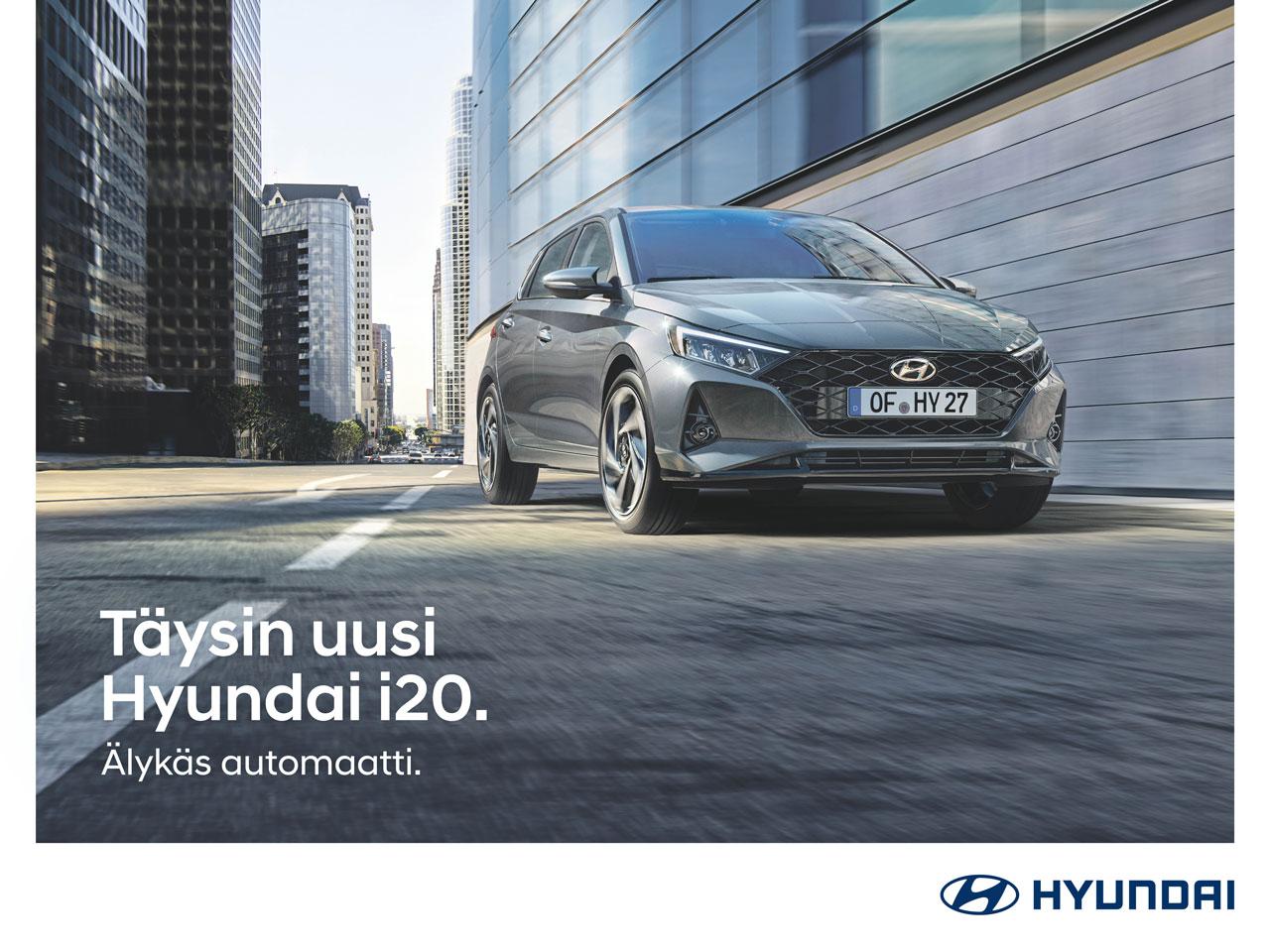 Hyundai i20 -mallistoon talvirenkaat 299 €