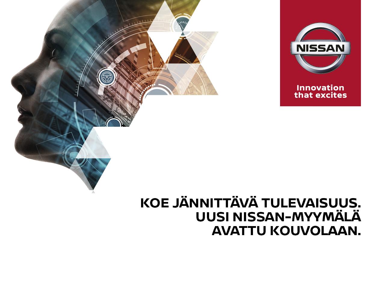 Uusi Nissan-myymälä avattu Kouvolaan