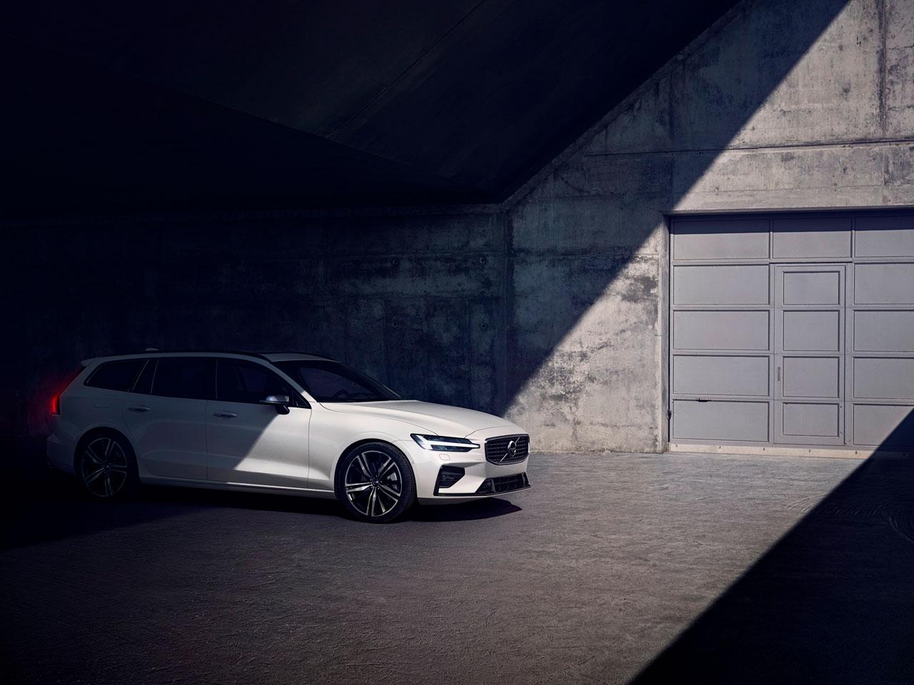 Volvo V60 -ostajan etuja