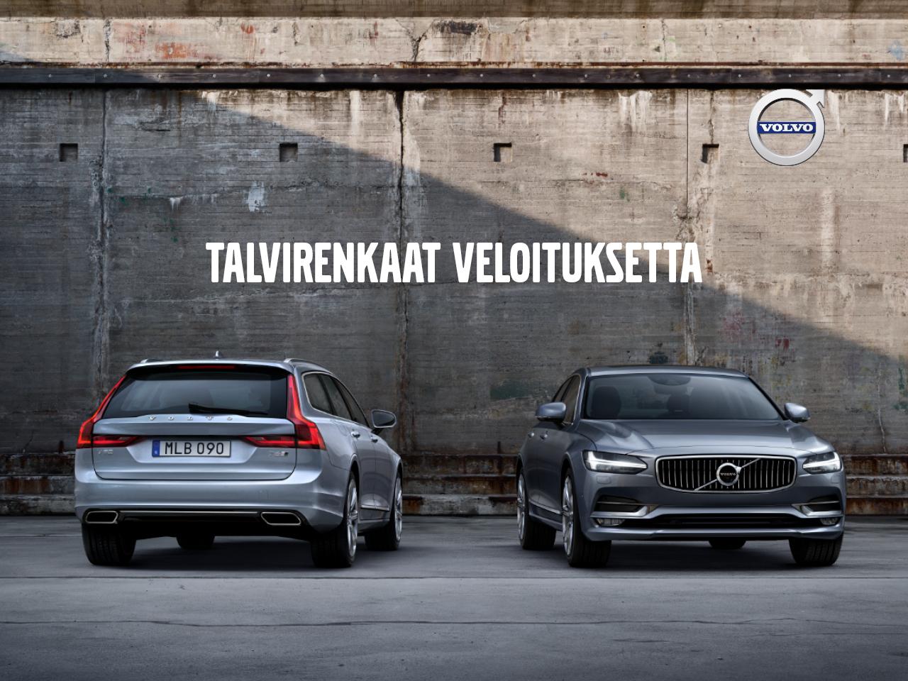 Talvirenkaat veloituksetta erään Volvo S90-, V90- ja V90 CC -malleja