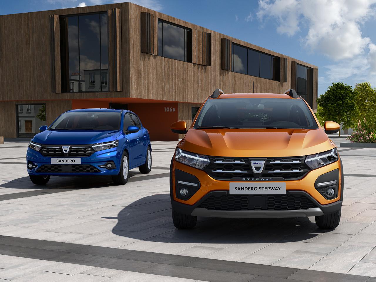 Uusi Dacia Sandero ja Sandero Stepway ennakkomyynnissä