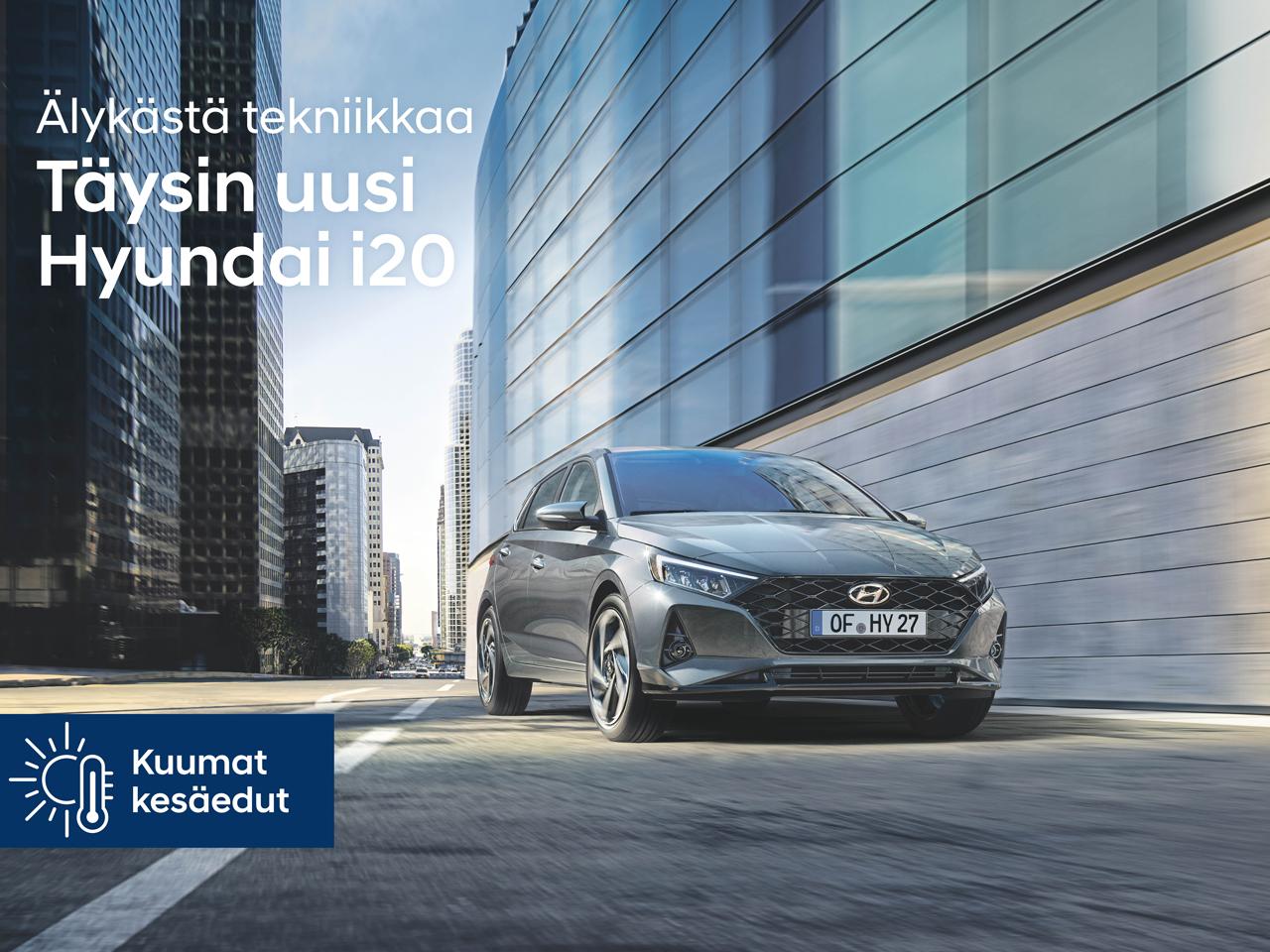 Hyundai i20: tehdaslisävarusteet puoleen hintaan