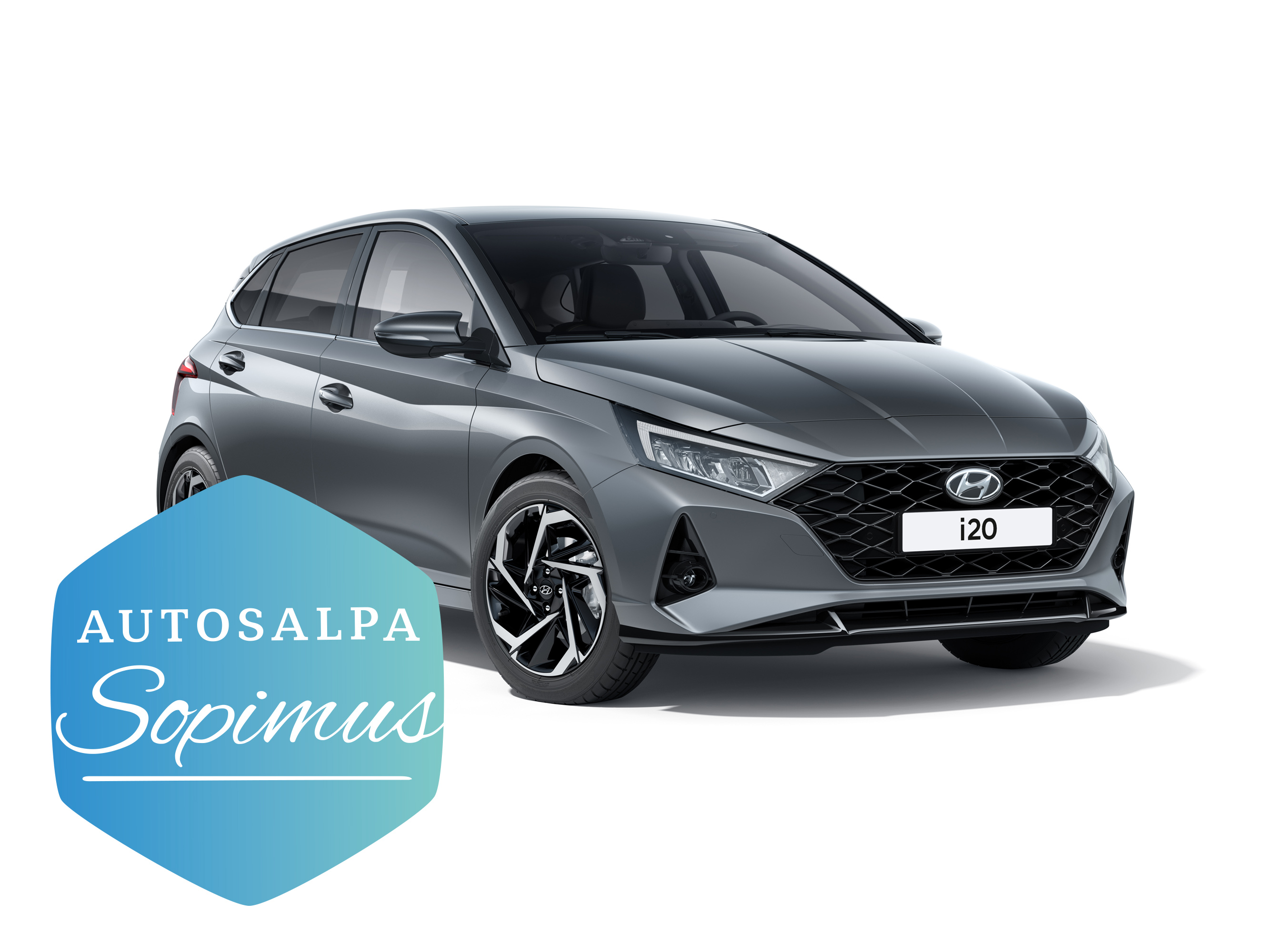 Hyundai i20 Hatchback esim. 199 € / kk