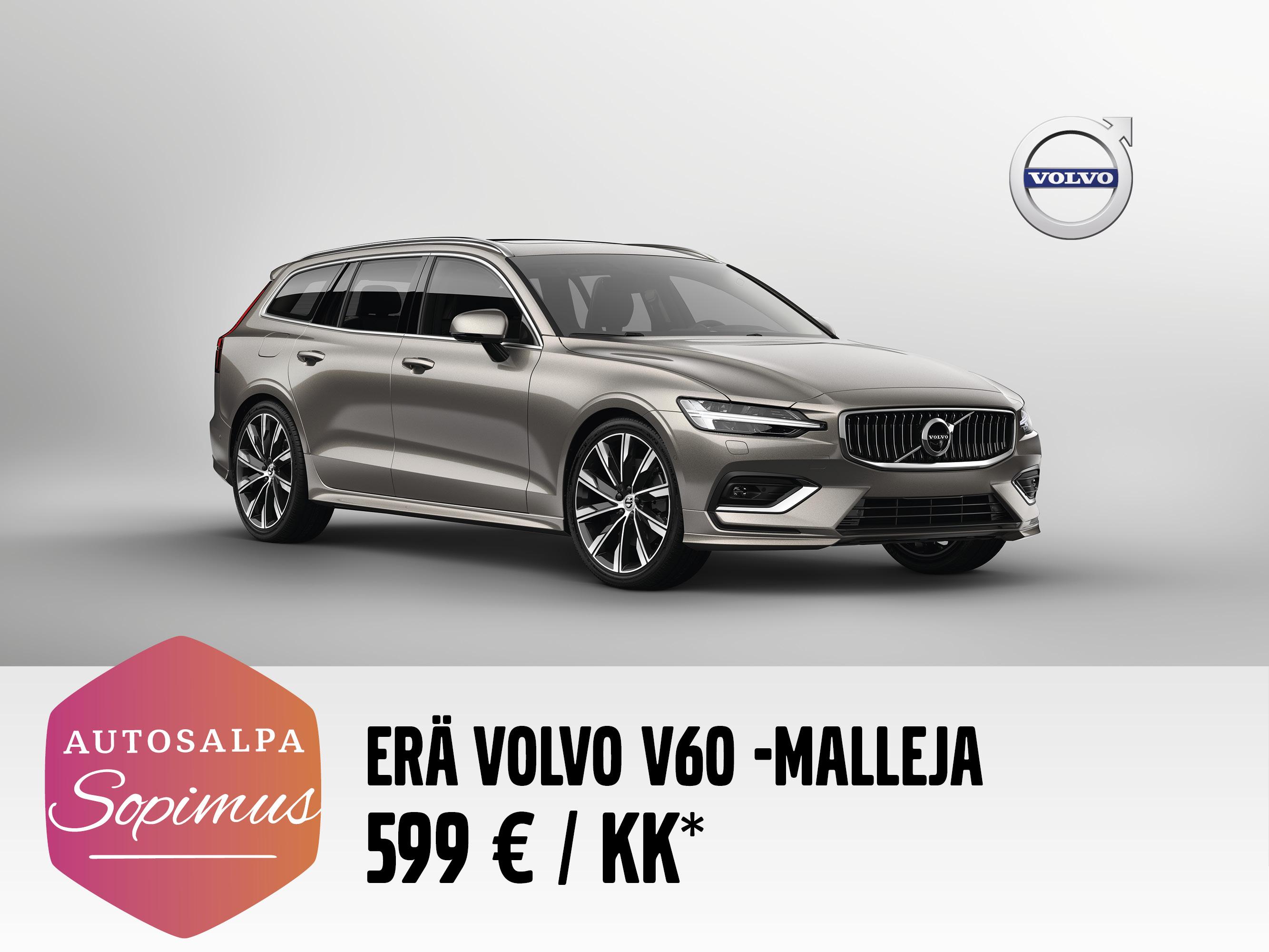Volvo V60 tasaerin 599 € / kk
