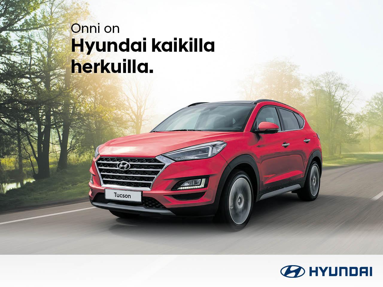 Hyundai Tucson Limited Plus - kaikilla herkuilla