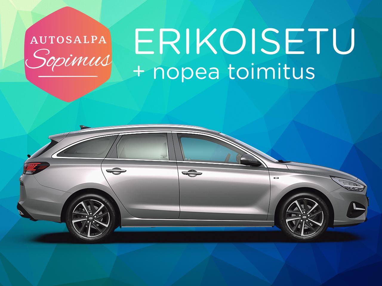 ERÄ: Hyundai i30 Wagon 1,0 T-GDI 48V hybrid Comfort. Esim. 269 €/ kk