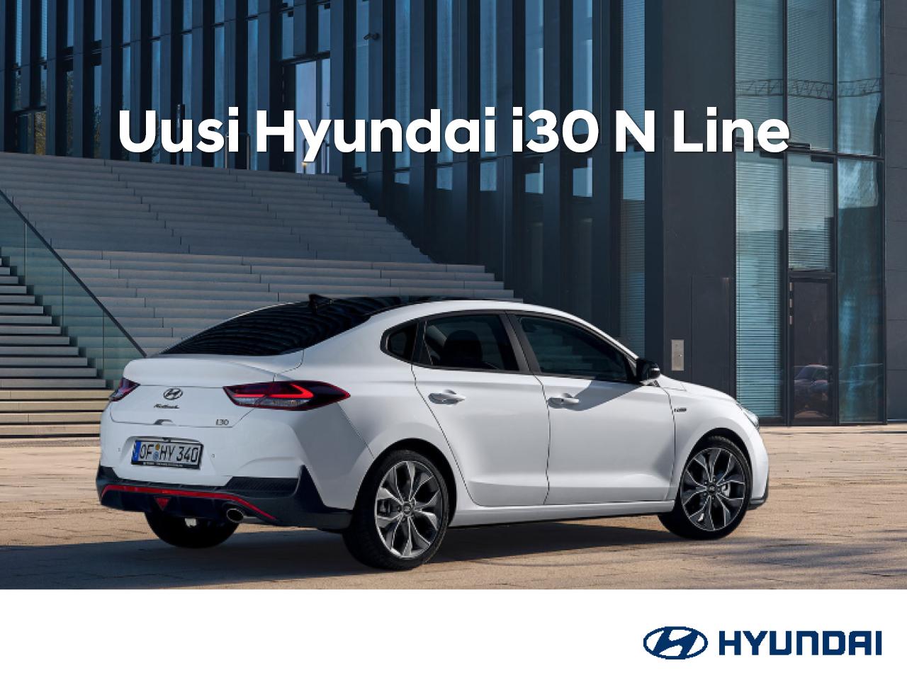 Koe uusi Hyundai i30 N Line