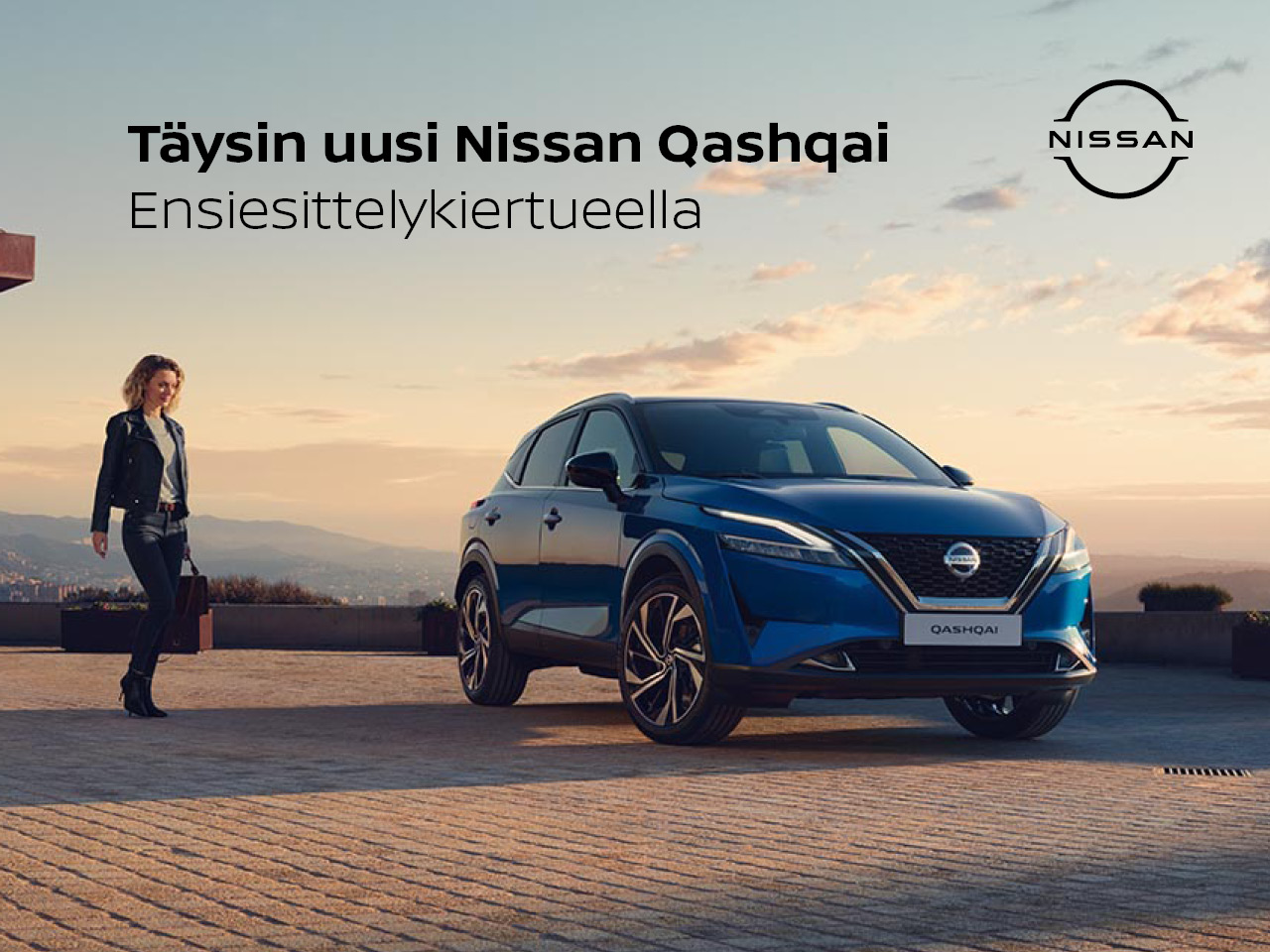Täysin uusi Nissan Qashqai nyt ensiesittelykiertueella