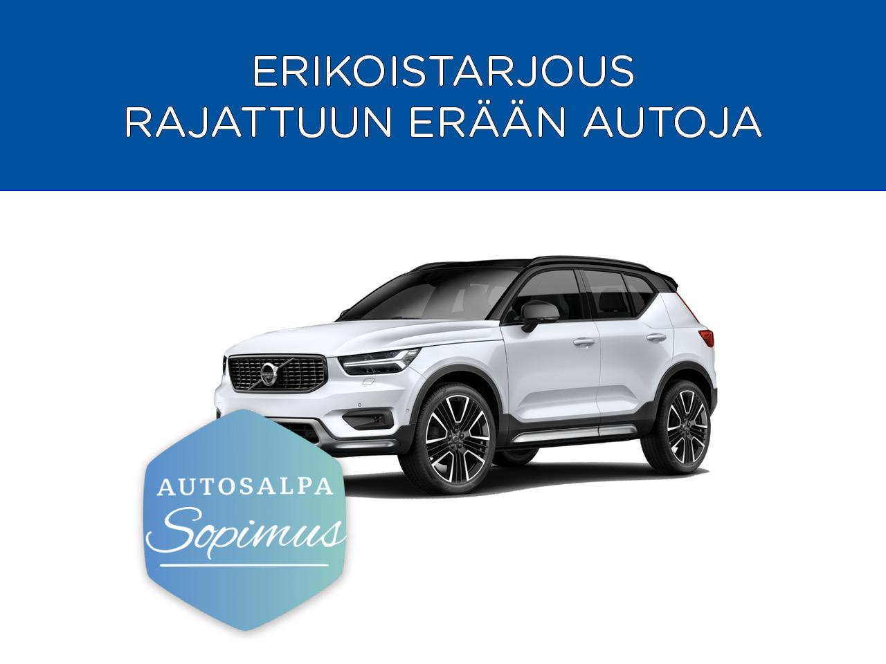 Erä: Volvo XC40 T5 Twin Engine esim. 459 € / kk