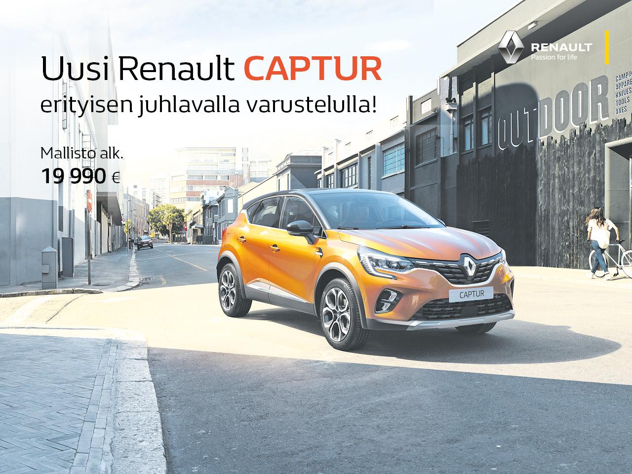 Renault Captur Festival