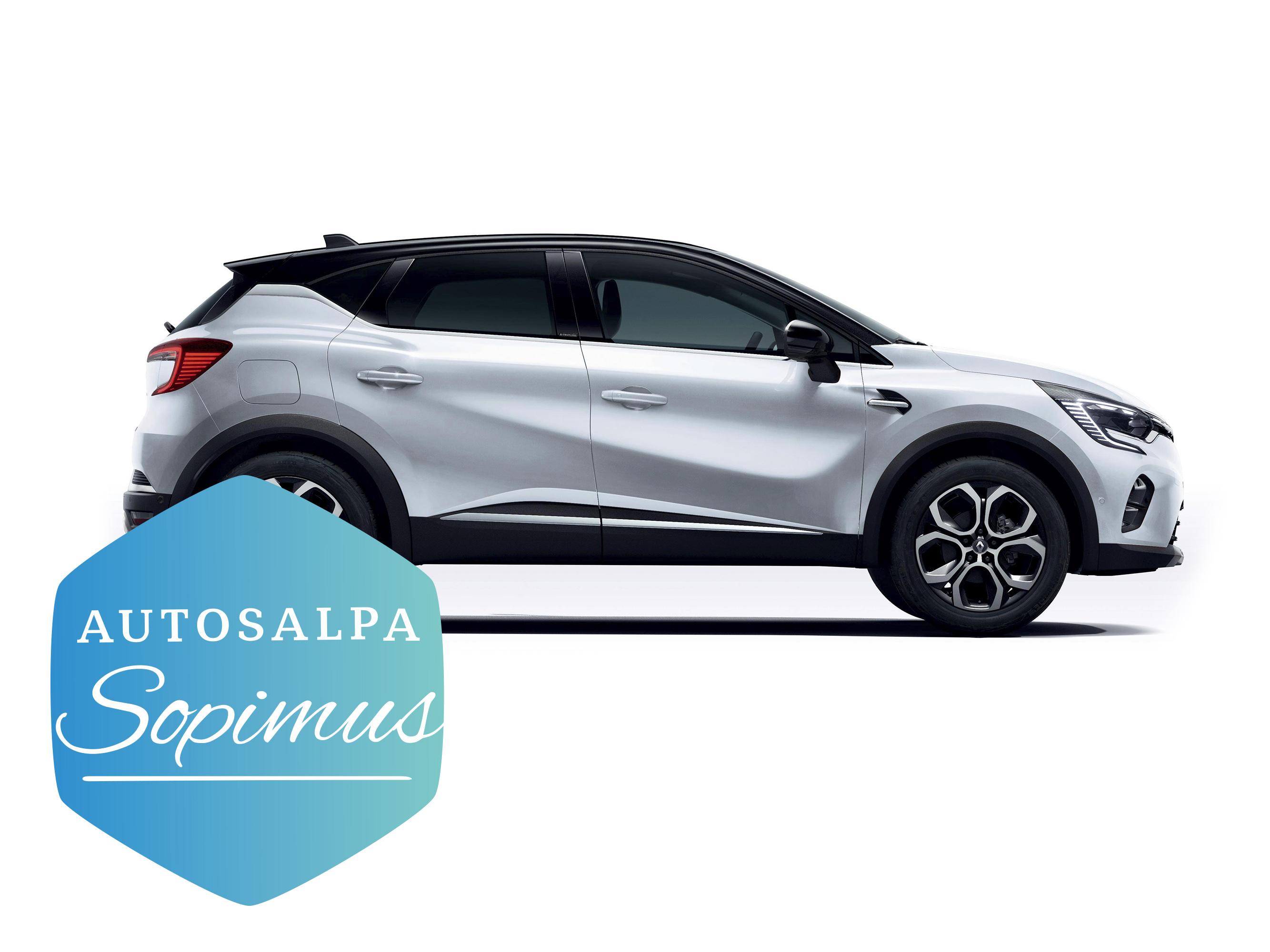 Uusi Renault Captur E-TECH esim. 399,8 € / kk