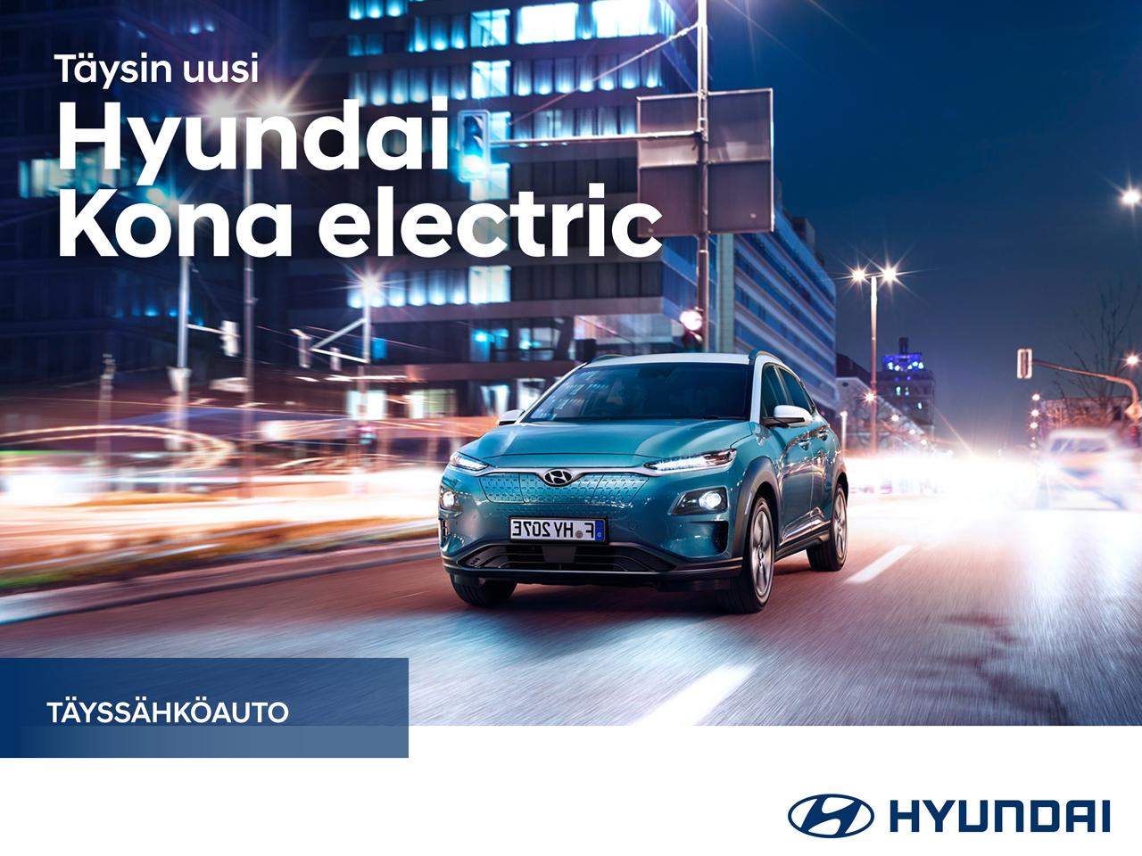 Odotettu uutuus Hyundai Kona electric