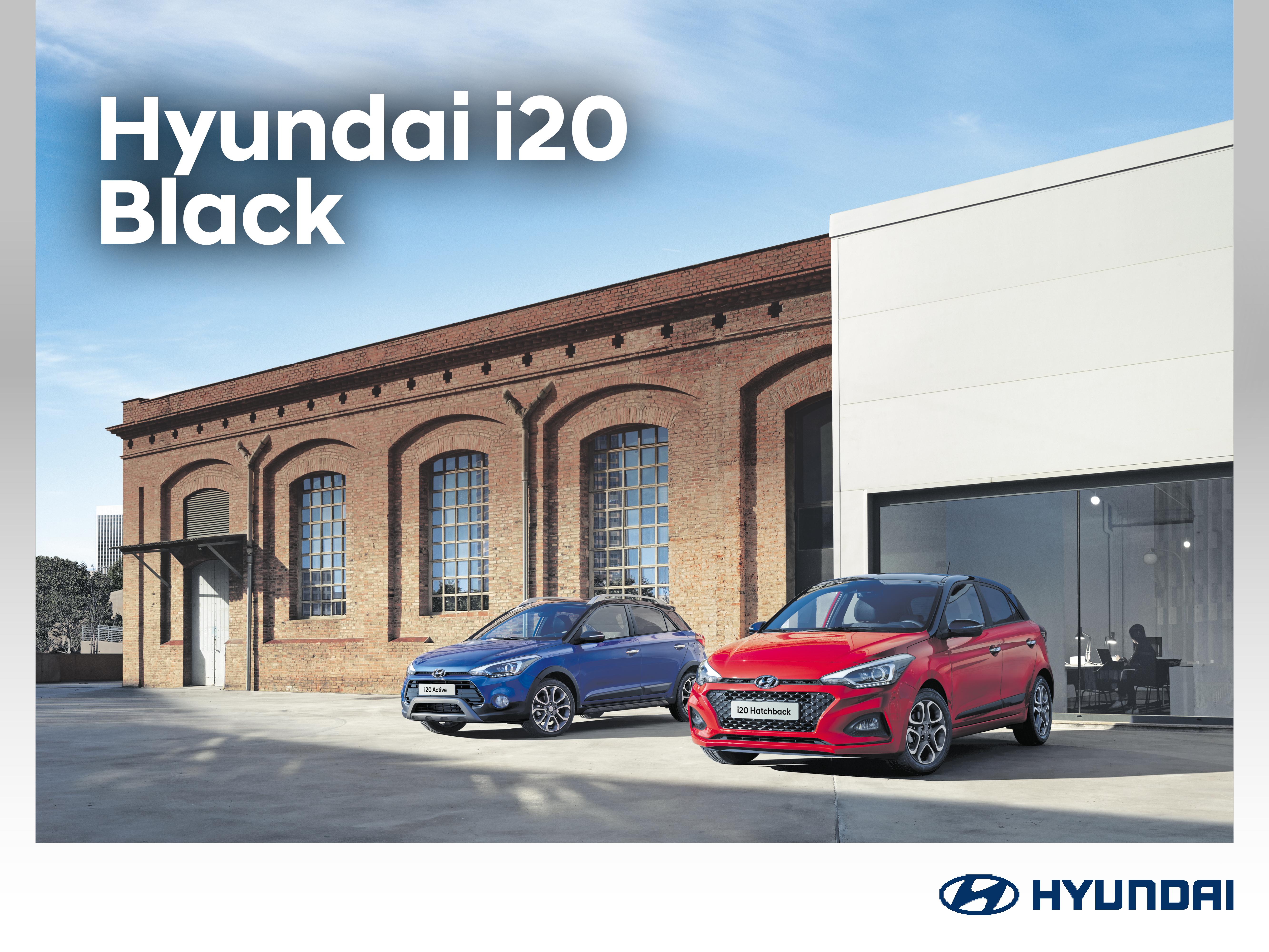 Hyundai i20 Black: talvirenkaat alumiinivantein 199 €