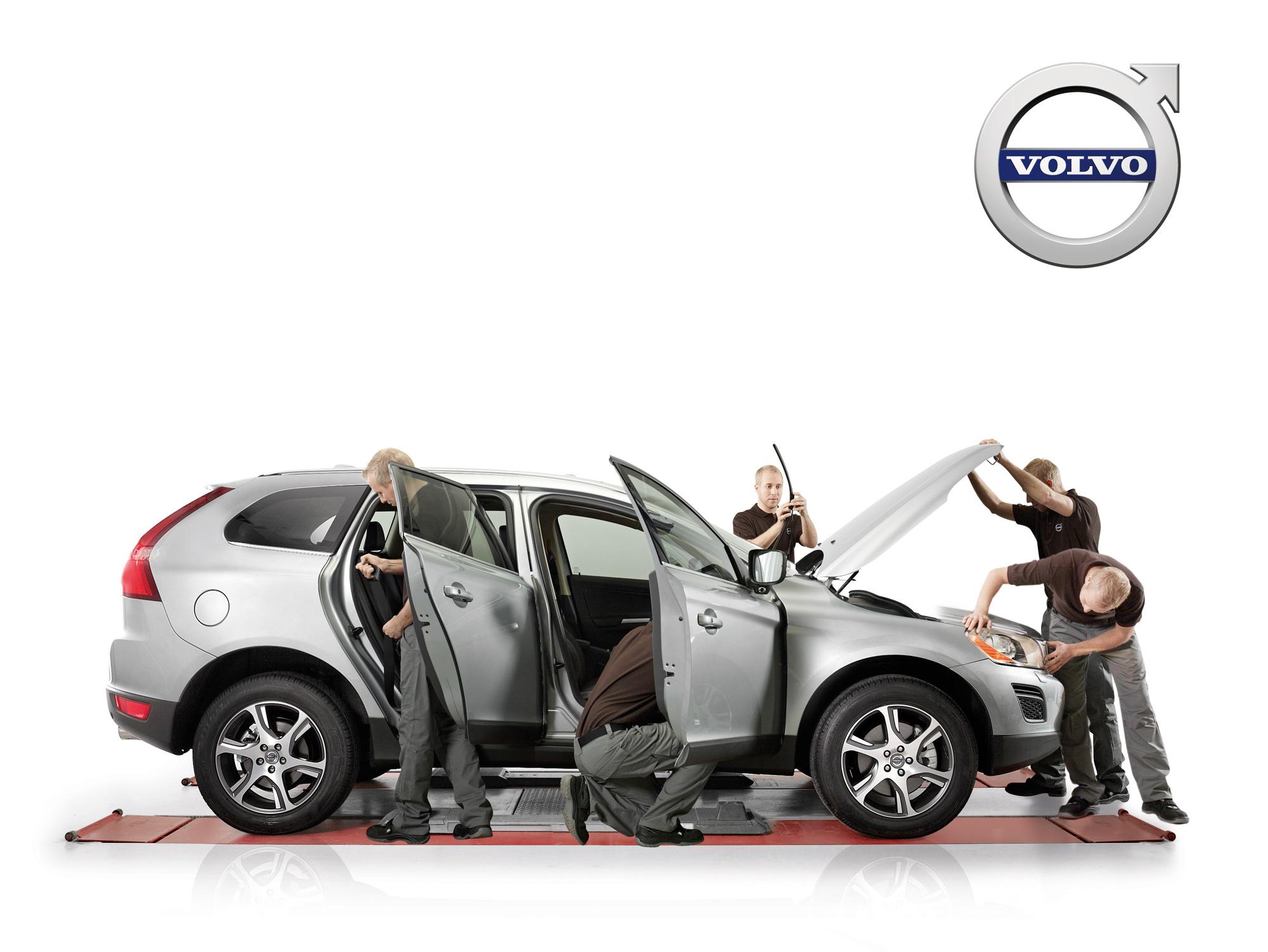 Valtuutettu Volvo-huolto