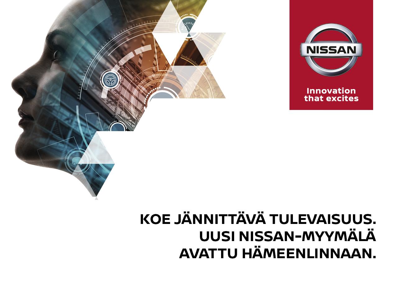 Uusi Nissan-jälleenmyyjäsi Hämeenlinnassa