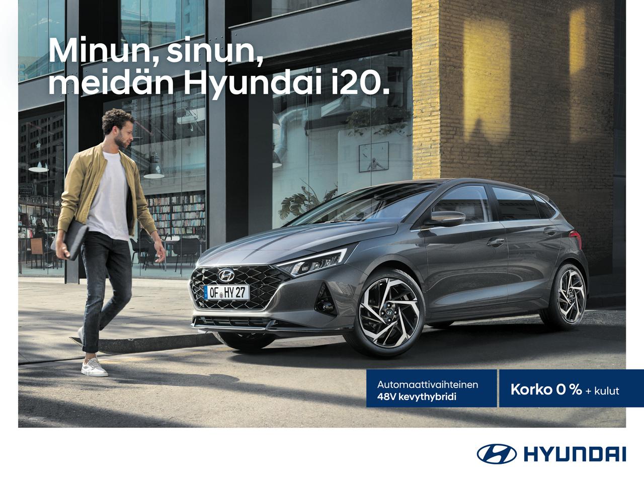 Täysin uusi Hyundai i20