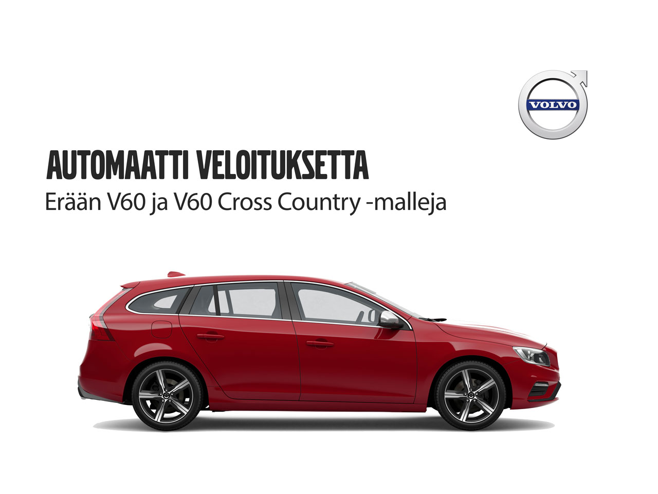 Volvo V60: automaatti veloituksetta