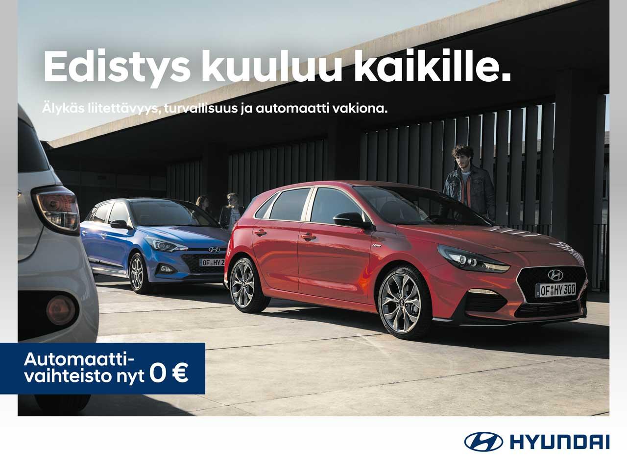 Hyundai i30 Comfort: automaattivaihteisto veloituksetta