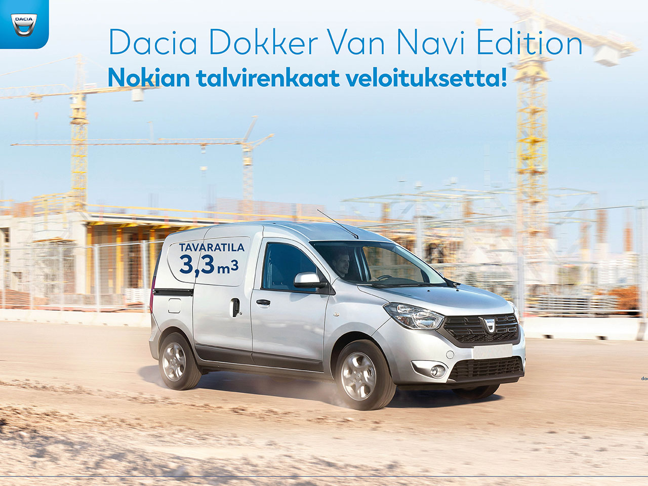 Dacia Dokker Van Navi Edition huippueduilla