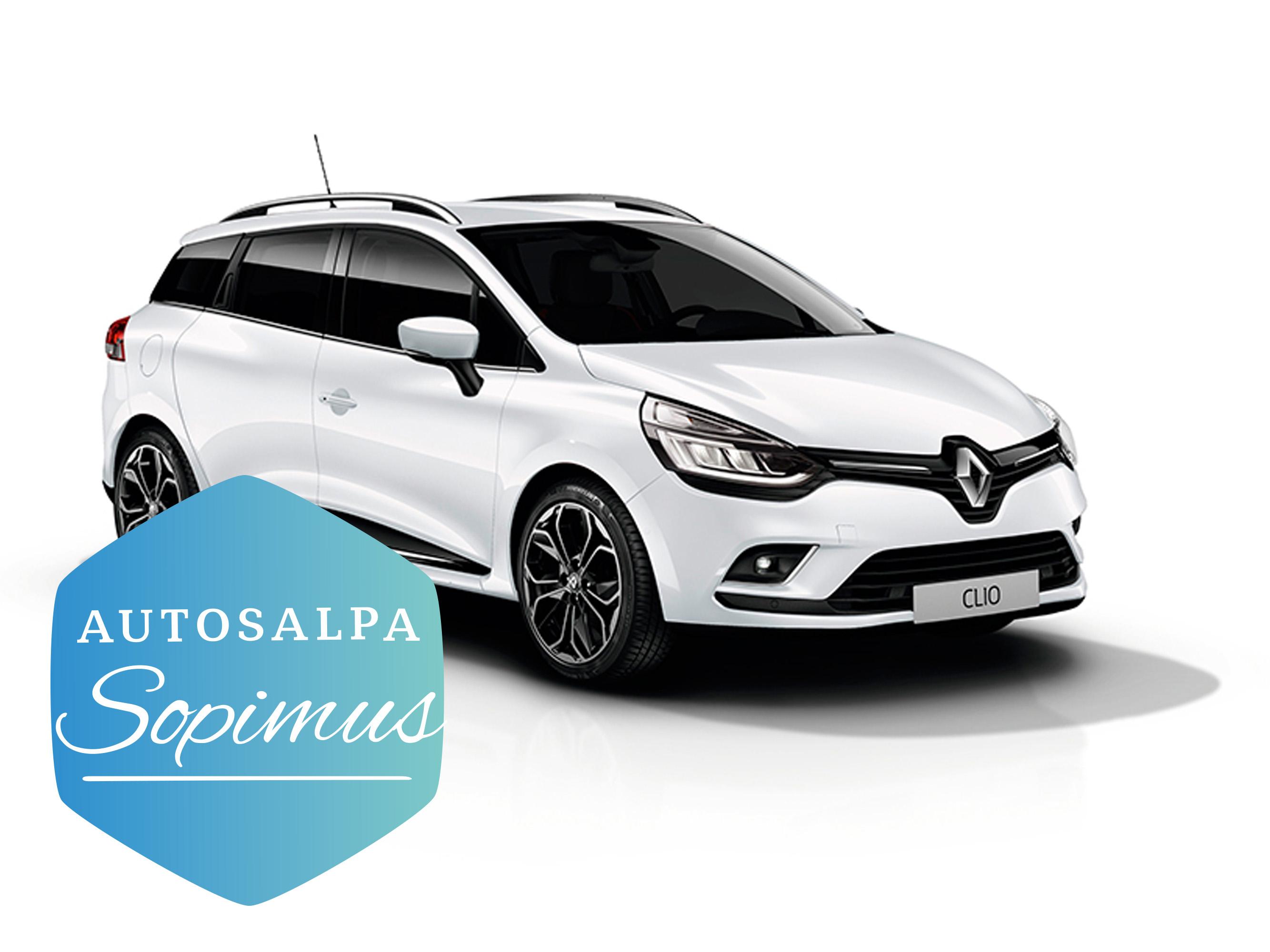 Renault Clio Sport Tourer TCe 90 Fête esim. 198 € / kk