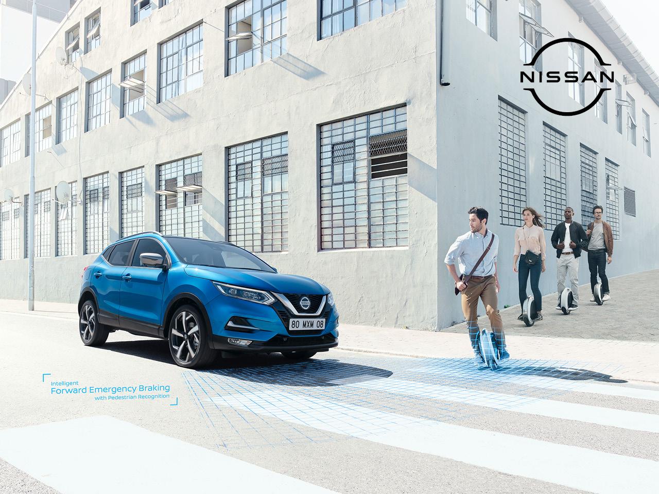 Automaattivaihteinen Nissan Qashqai N-Connecta nyt 28 590 €