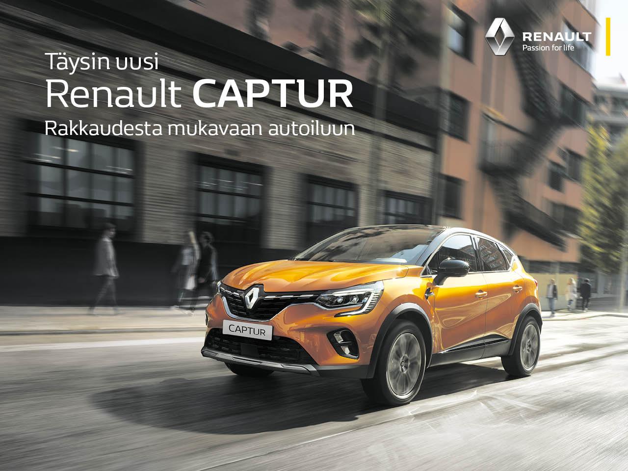 Uusi Renault Captur: kaksivärimaalaus veloituksetta