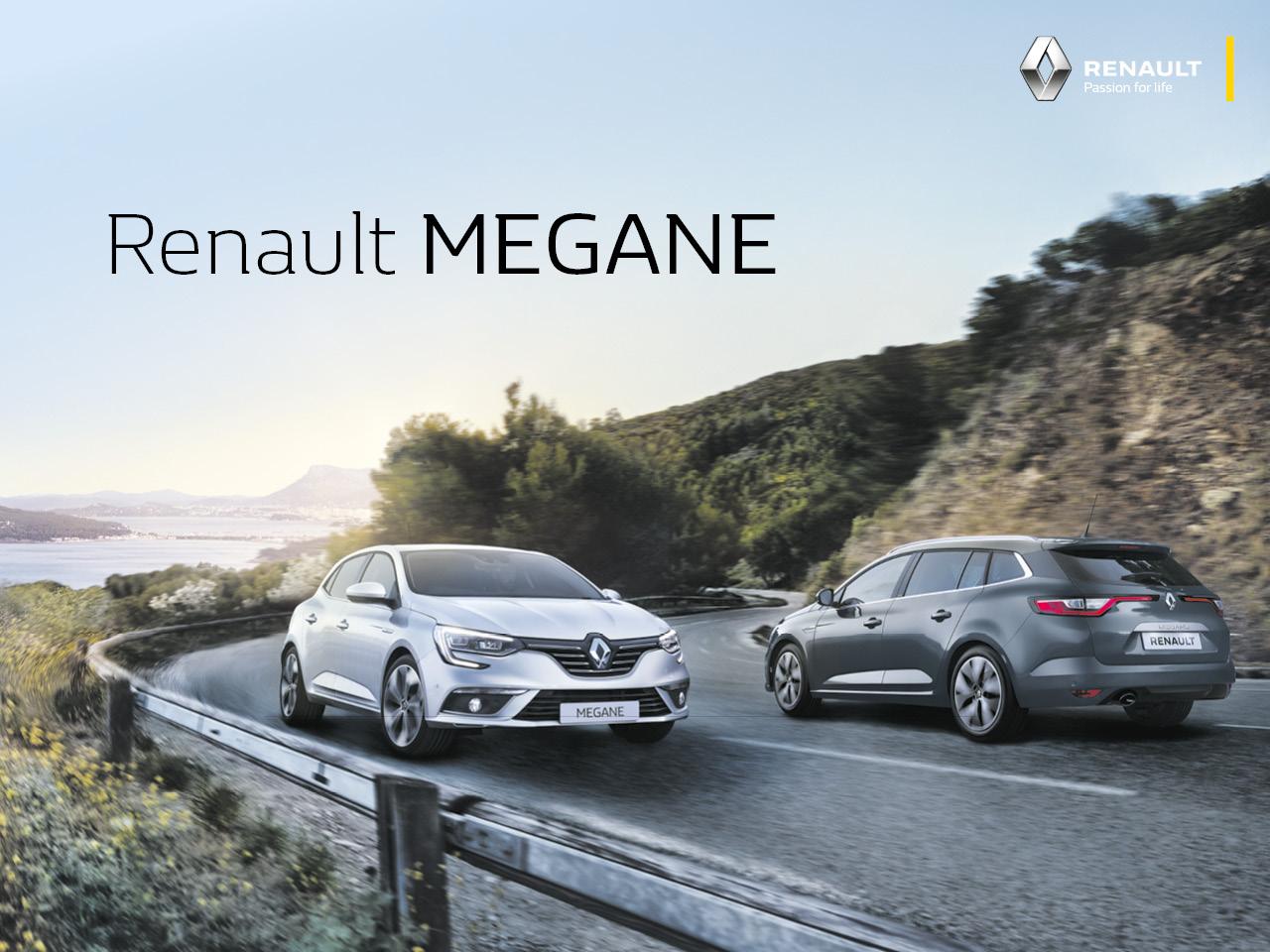 Renault Megane etuhintaan