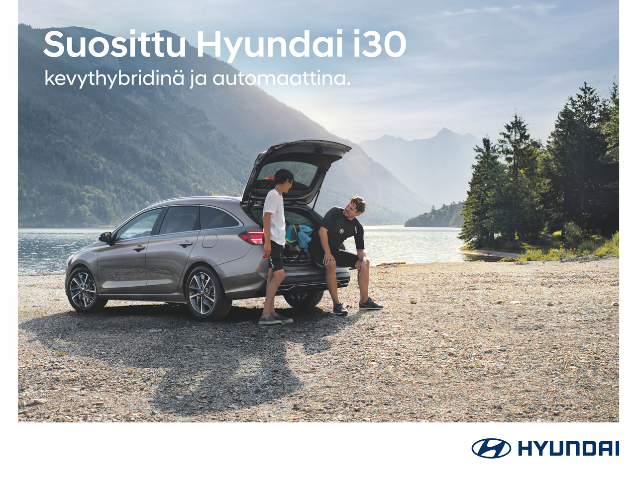 Hyundai i30: kevythybridi ja automaatti lisähintaan 499 €